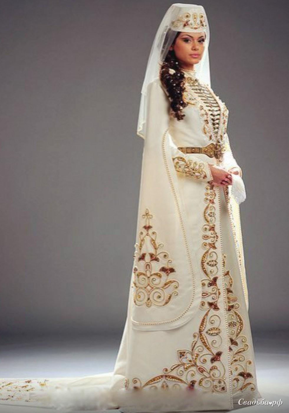 Татарское национальное свадебное платье